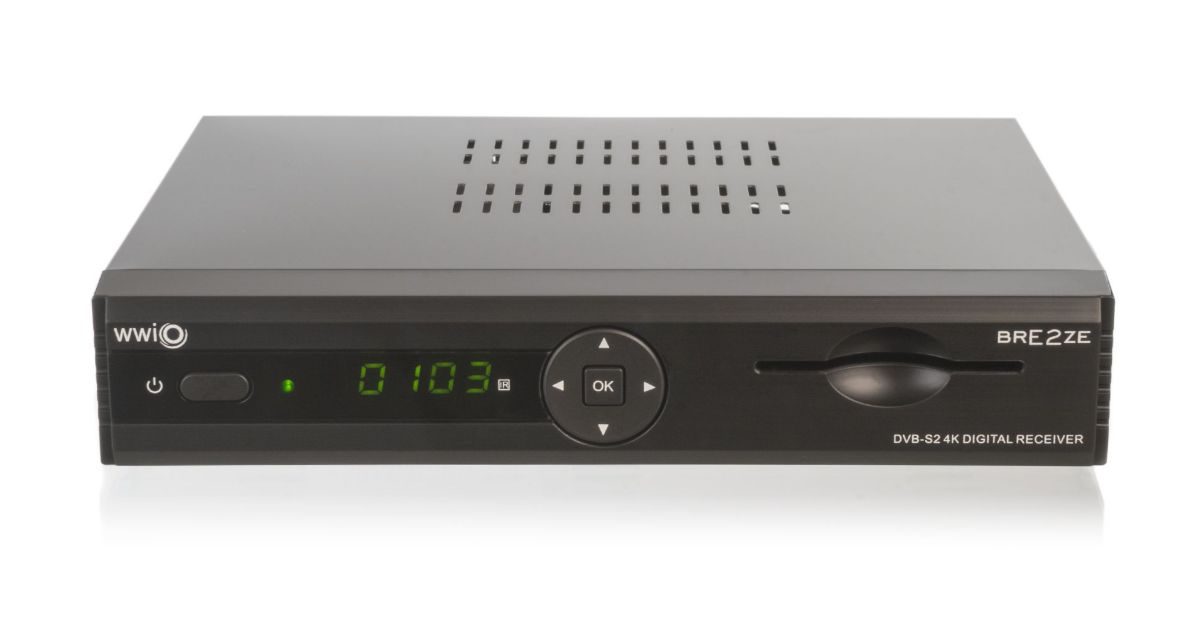 WWIO DVB-S2 SAT-HD-Linux-Receiver UHD 4K PVR-re...