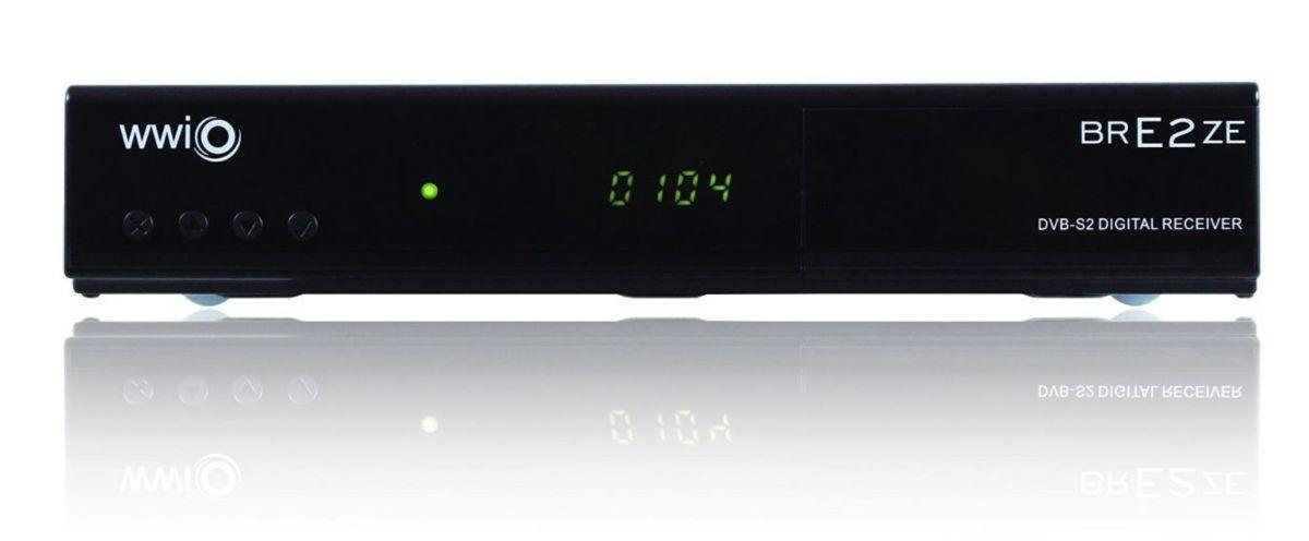 WWIO DVB-S2 SAT-HD-Linux-Receiver PVR-ready »BR...