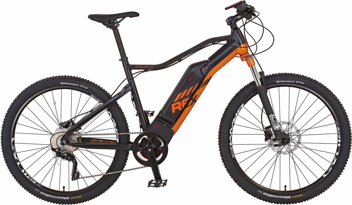 REX MTB E-Bike, HR-Motor 48V/250W, 27,5 Zoll, 1...