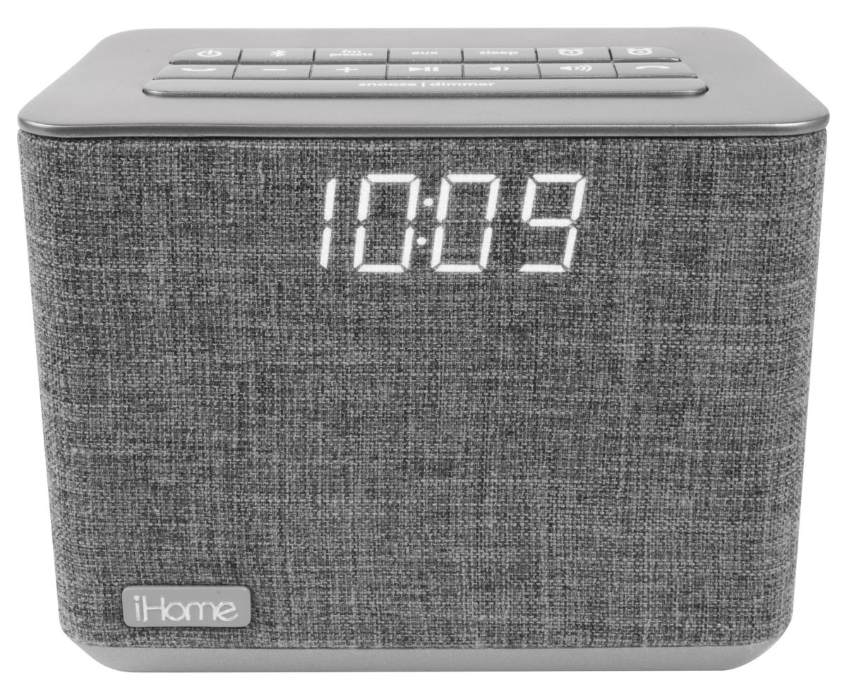 iHome Bluetooth Dual Alarm Radiowecker / Lautsp...