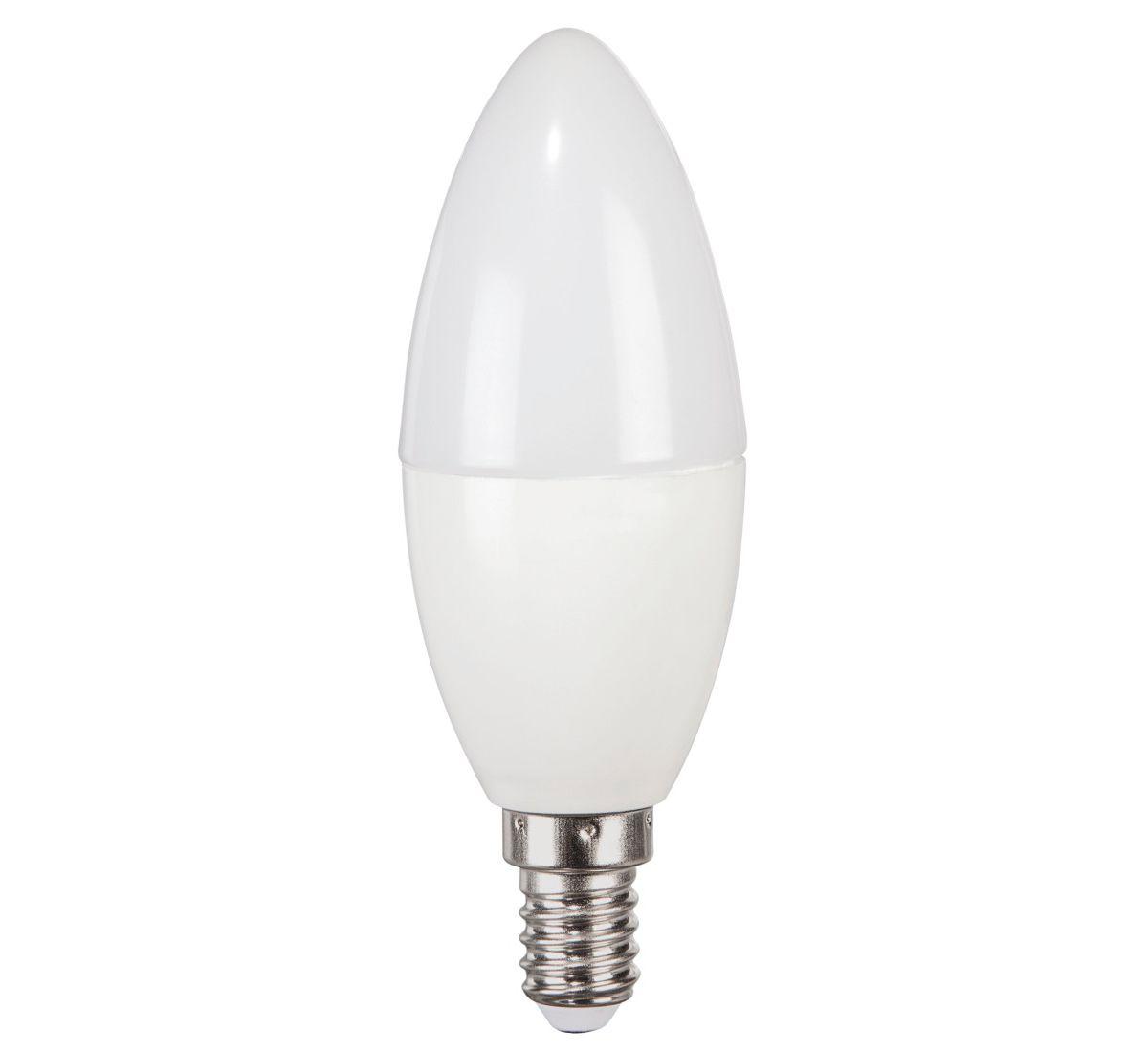 Xavax LED-Lampe, E14, 470lm ersetzt 40W, Kerzen...