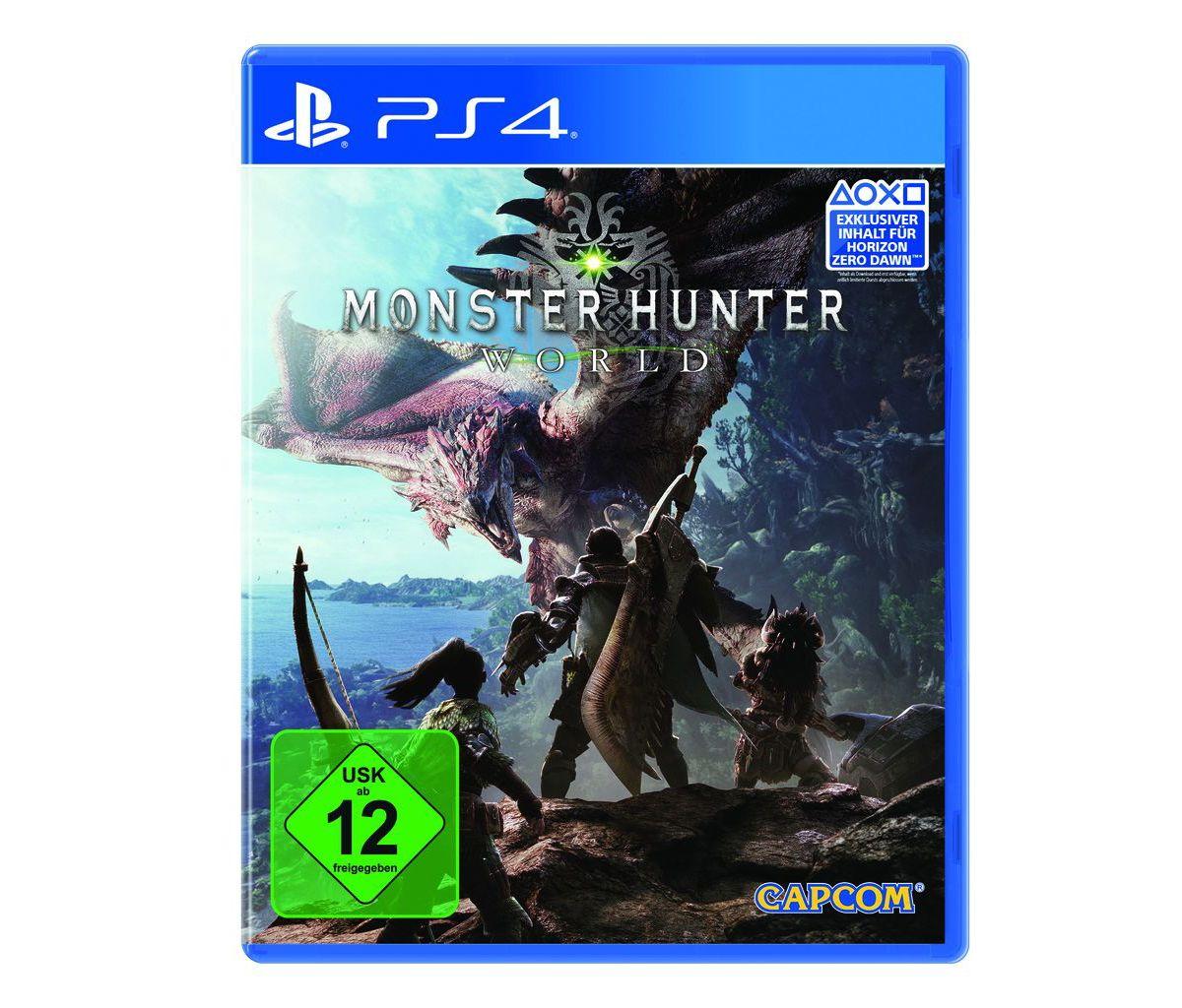 Capcom Playstation 4 - Spiel »Monster Hunter Wo...