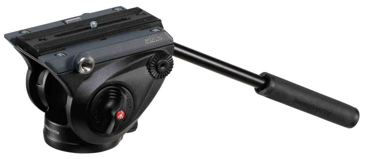 Manfrotto Stativkopf »Fluid-Videoneiger flache Basis MVH500AH«