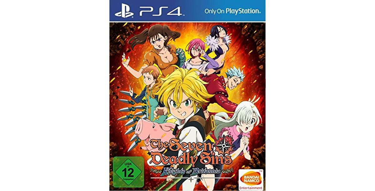 Bandai Playstation 4 - Spiel »The Seven Deadly ...