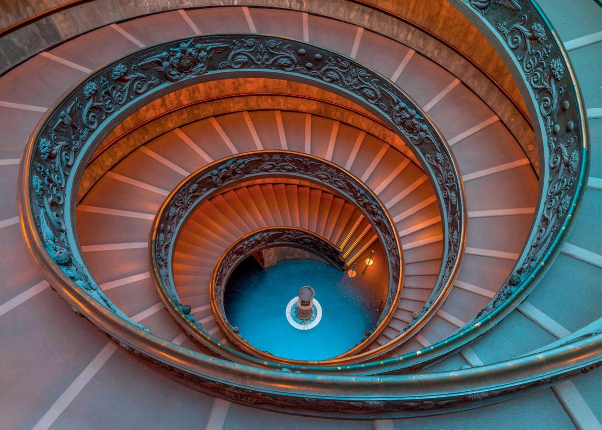 Giclee Fine Art »Stufen« 140/100 cm
