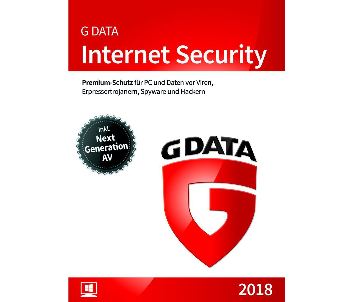 GData Software »GData Internet Security 2018 3 PC«
