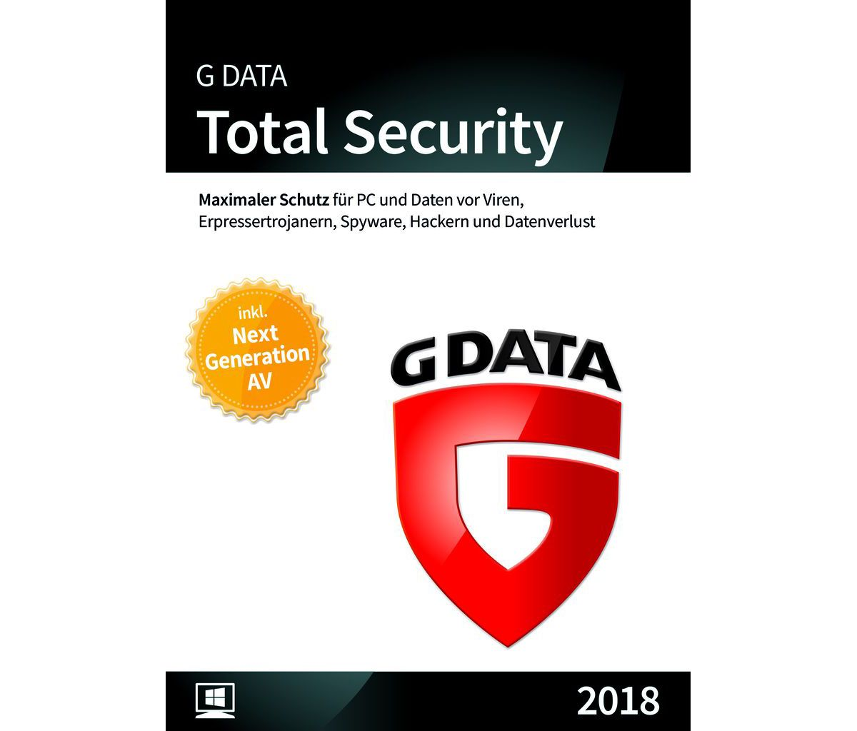 GData Software »GData Total Security 2018 3 PC«