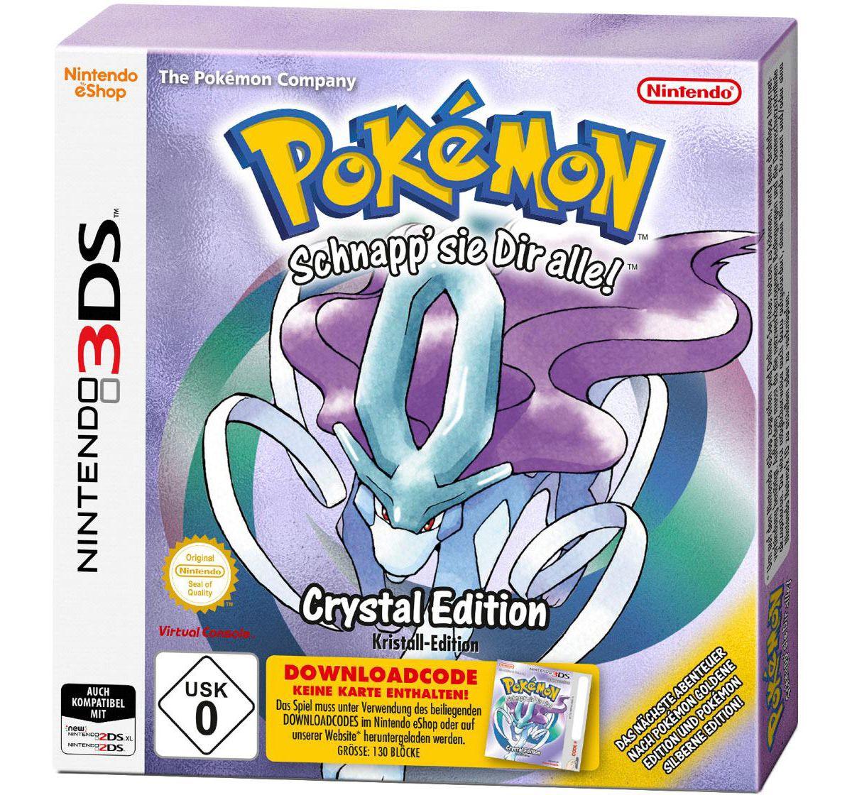 Pokémon Kristall-Edition (DLC) Nintendo 2DS (Do...