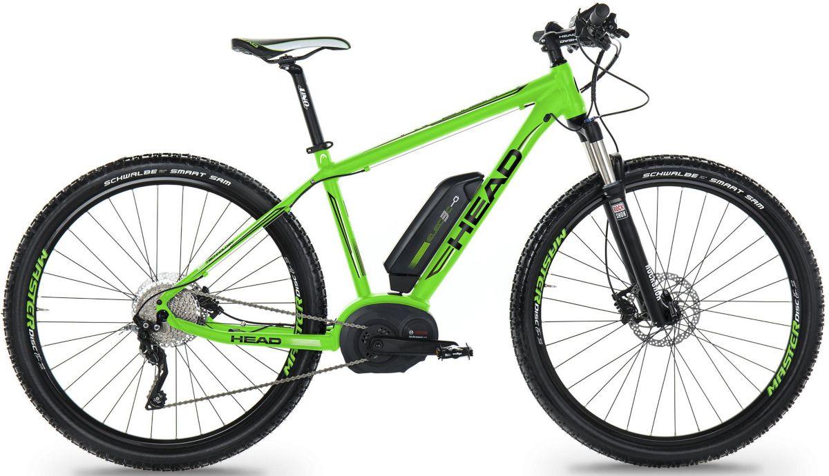 Head E-Bike Mountainbike, 29 Zoll, 10-Gang Shim...