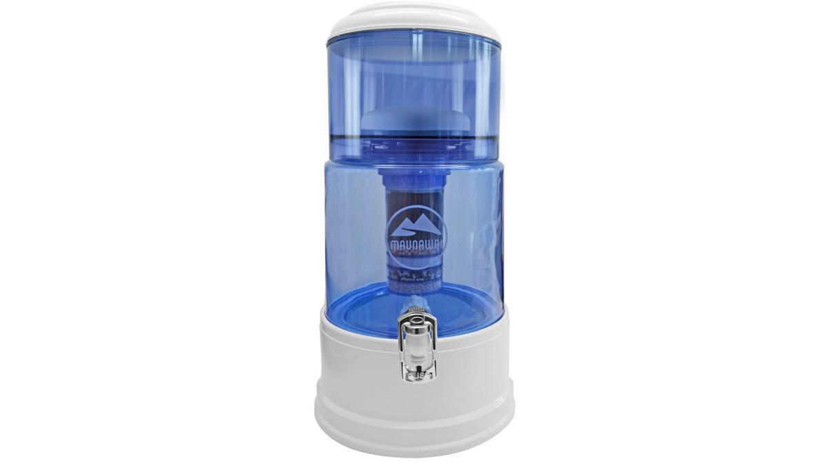 Maunawai Wasserfilter System mit Glasbehälter, ...
