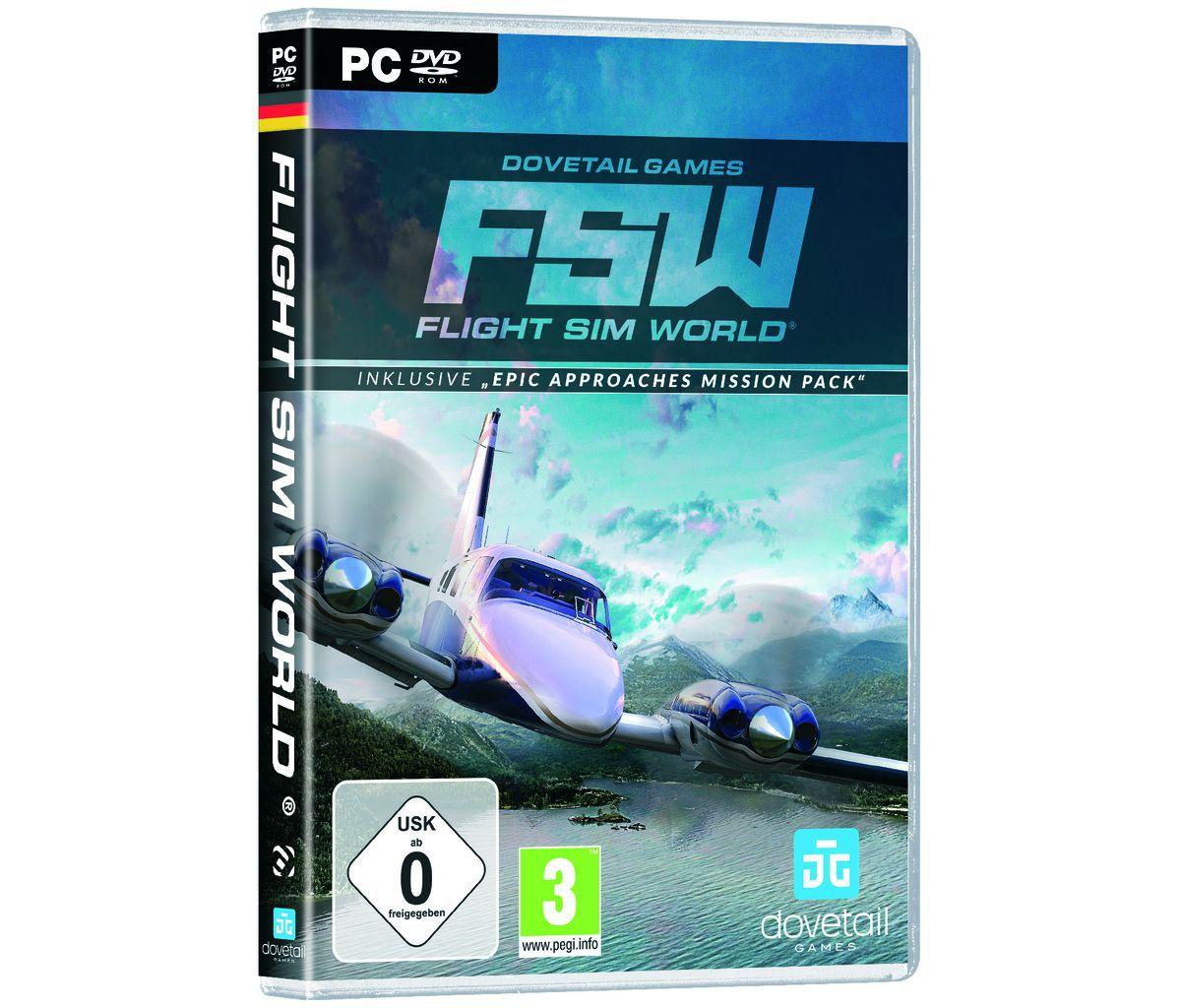 Astragon PC - Spiel »Flight Sim World«