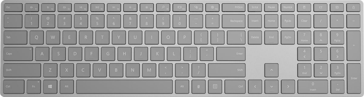Microsoft Modern Keyboard mit Fingerprint-ID