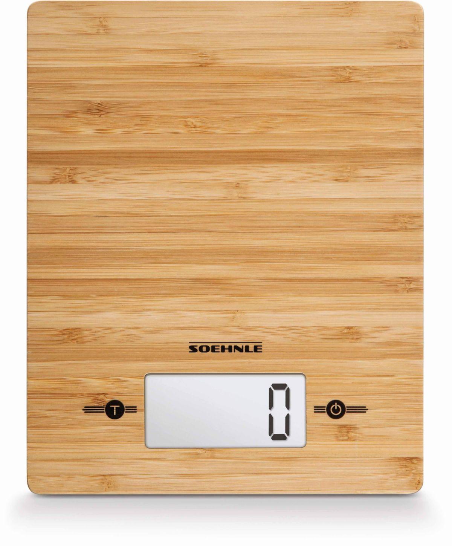 Soehnle Digitale Küchenwaage, »Bamboo«
