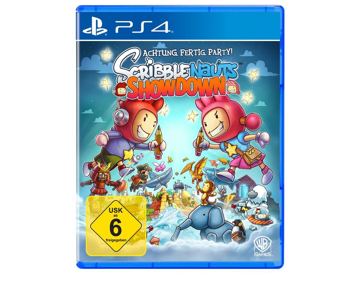 Warner Games Playstation 4 - Spiel »Scribblenau...