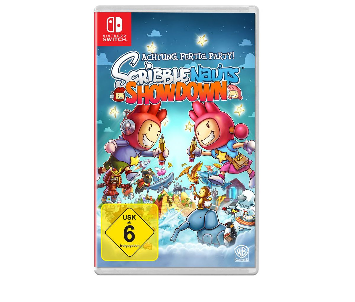Warner Games Nintendo Switch - Spiel »Scribblen...