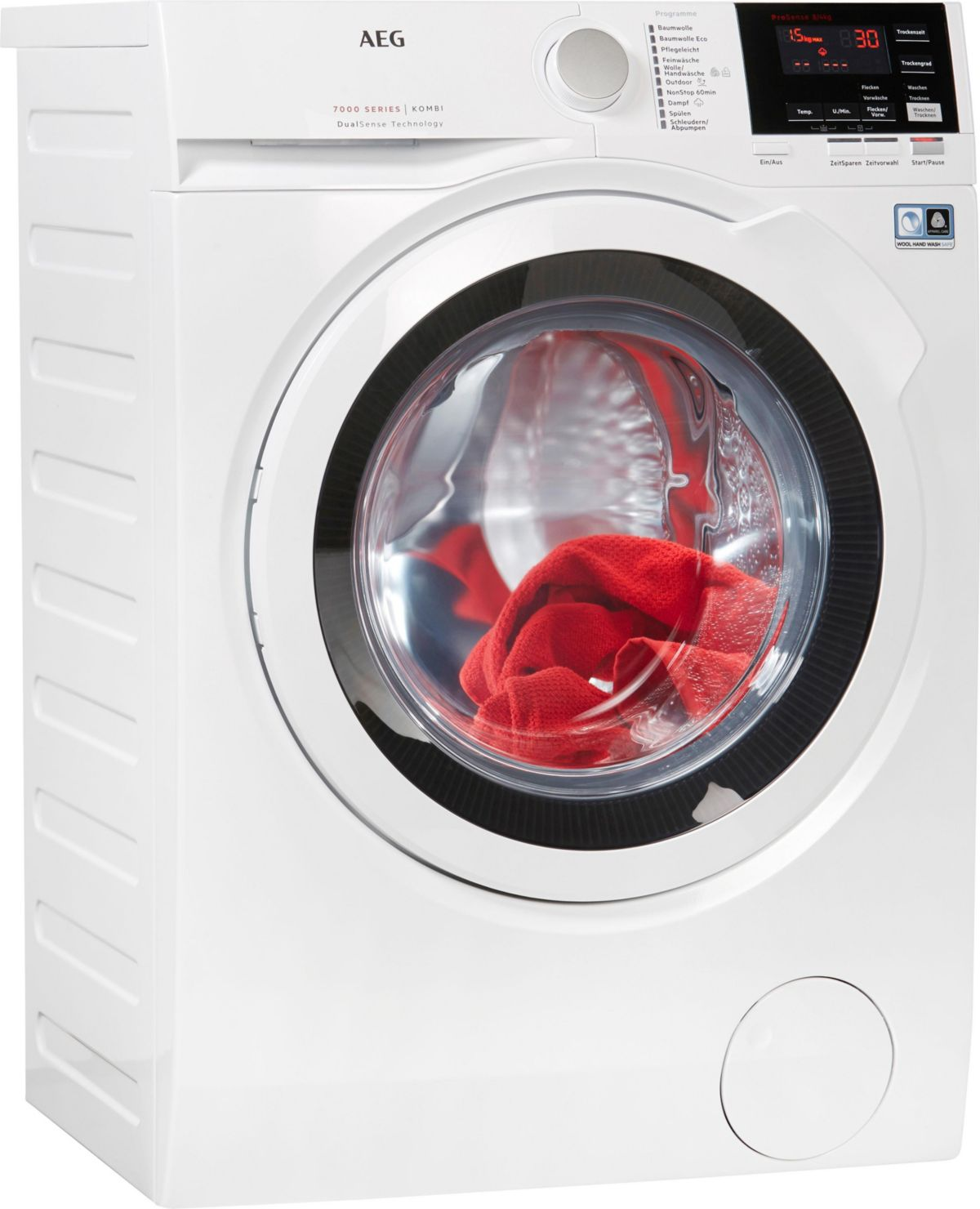 AEG Waschtrockner 7000 L7WB65684, 8 kg / 4 kg, ...