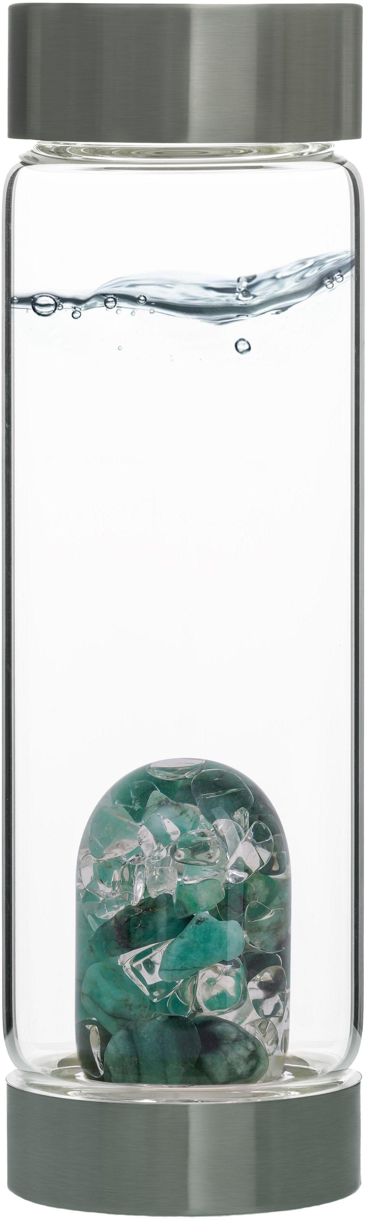 VitaJuwel Edelsteinflasche ViA Vitality (Smarag...