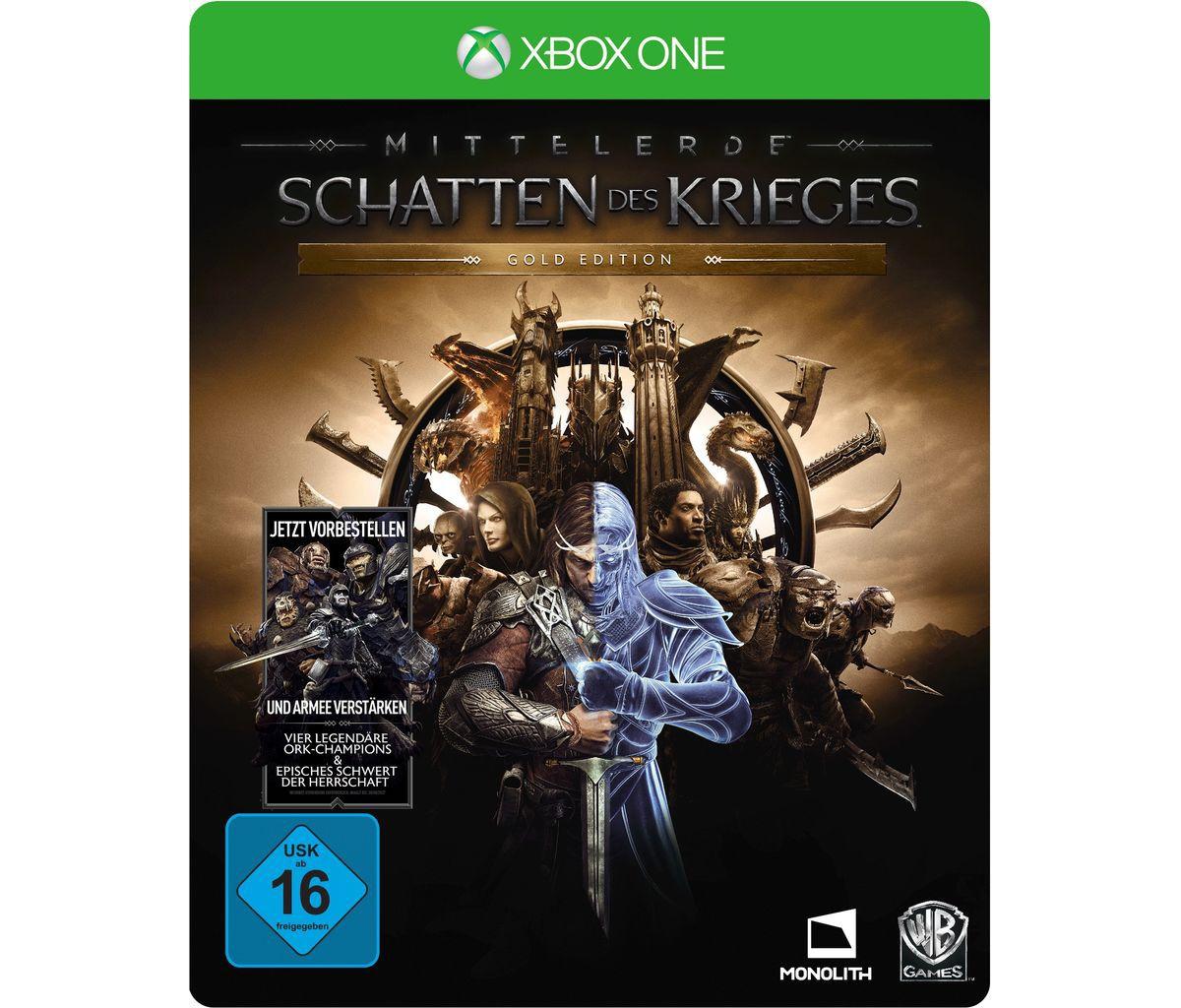 Warner Games XBOX One - Spiel »Mittelerde: Scha...