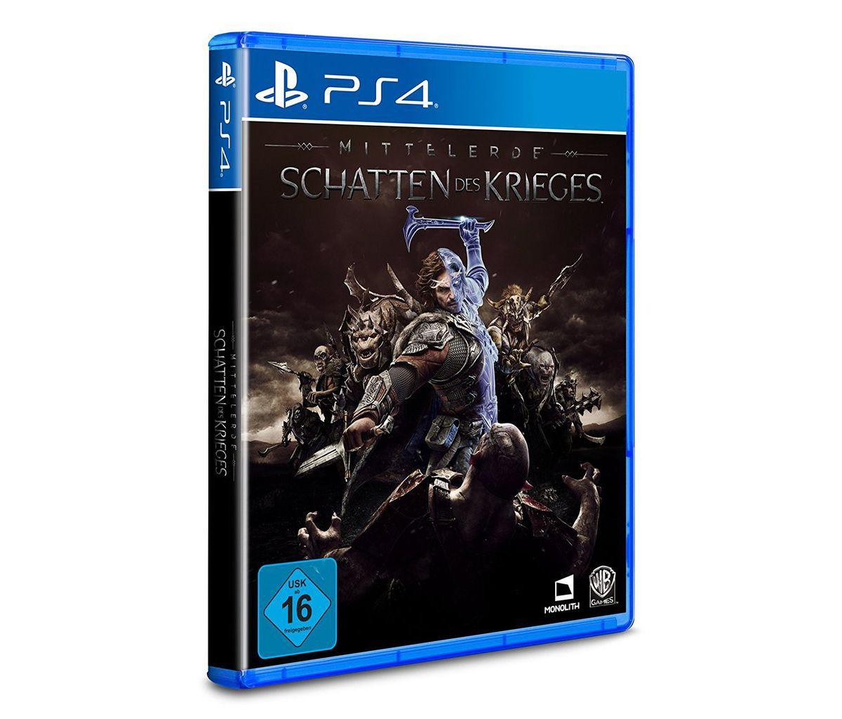 Warner Games Playstation 4 - Spiel »Mittelerde:...