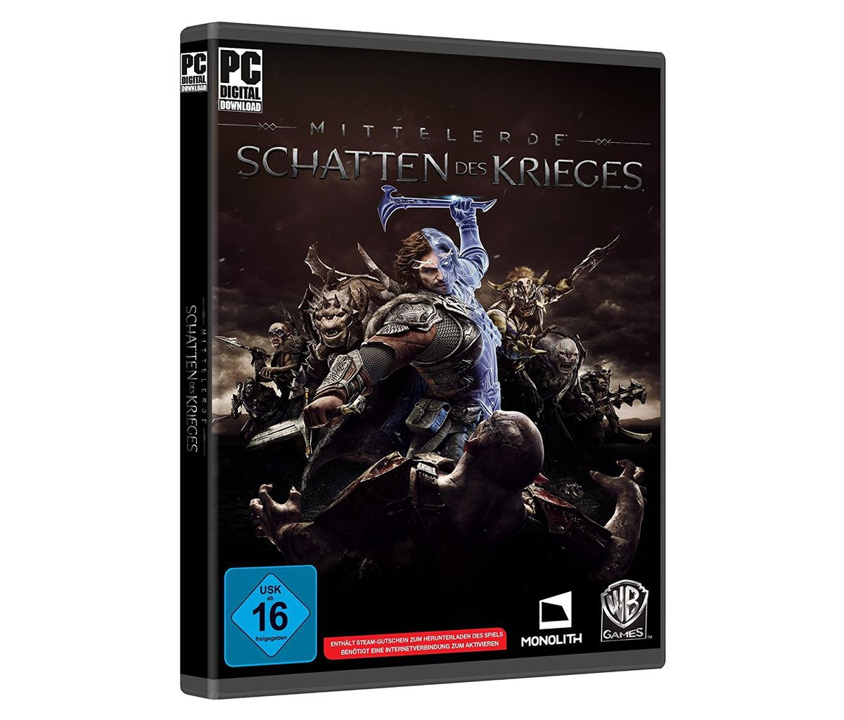 Warner Games PC - Spiel »Mittelerde: Schatten d...