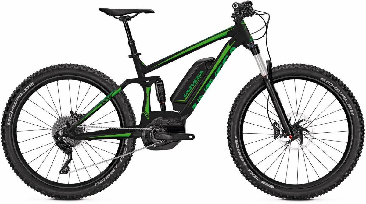 Univega Herren E-Bike ATB, 27 Zoll, 10 Gang Shi...