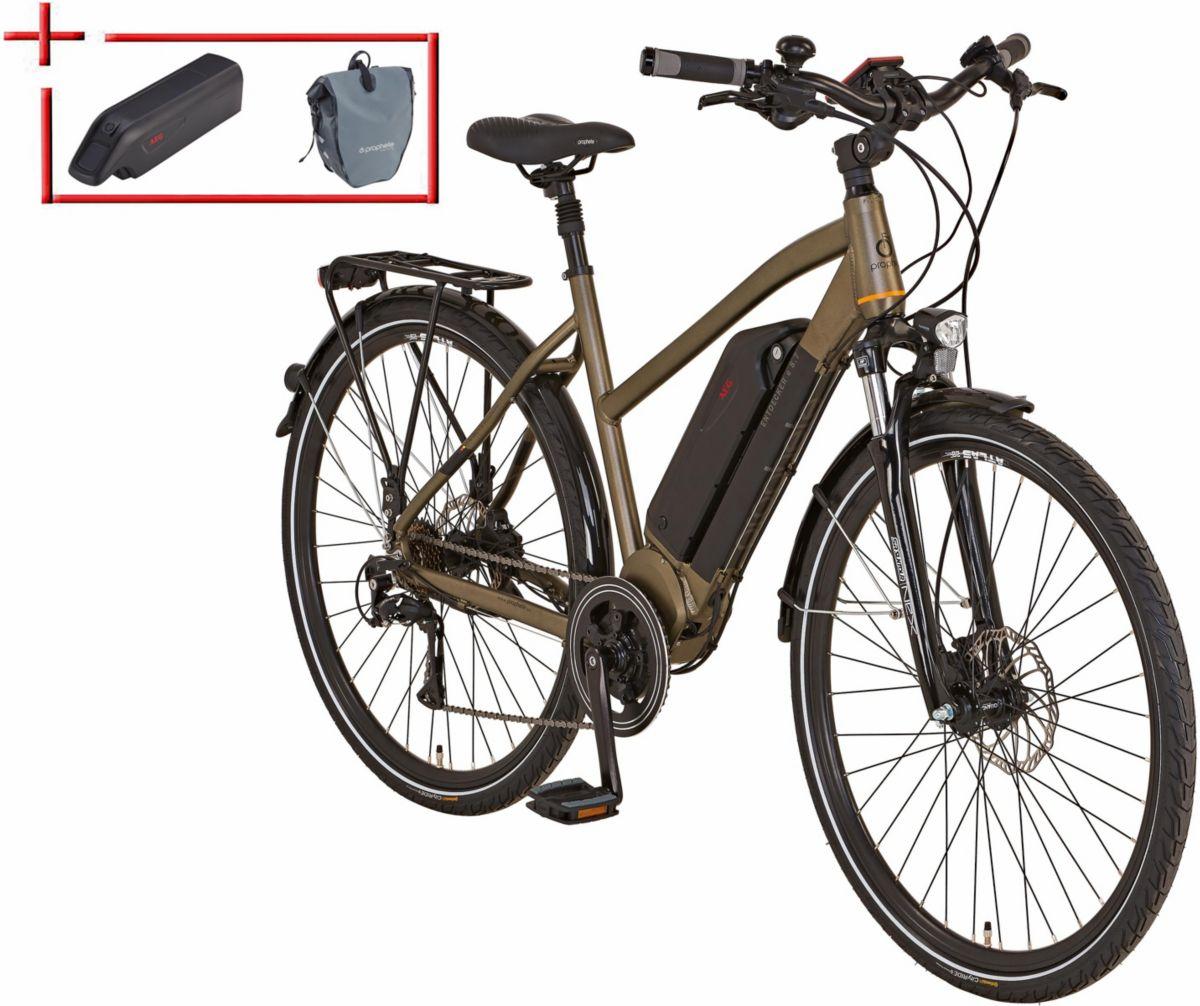 Prophete Da Trekking E-Bike inkl. 2 Akku u. Pac...