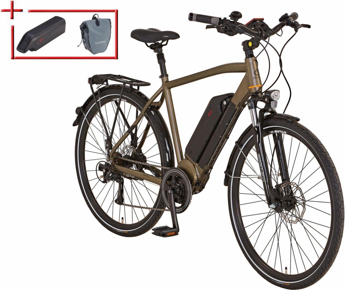 Prophete He Trekking E-Bike inkl. 2. Akku u. Pa...