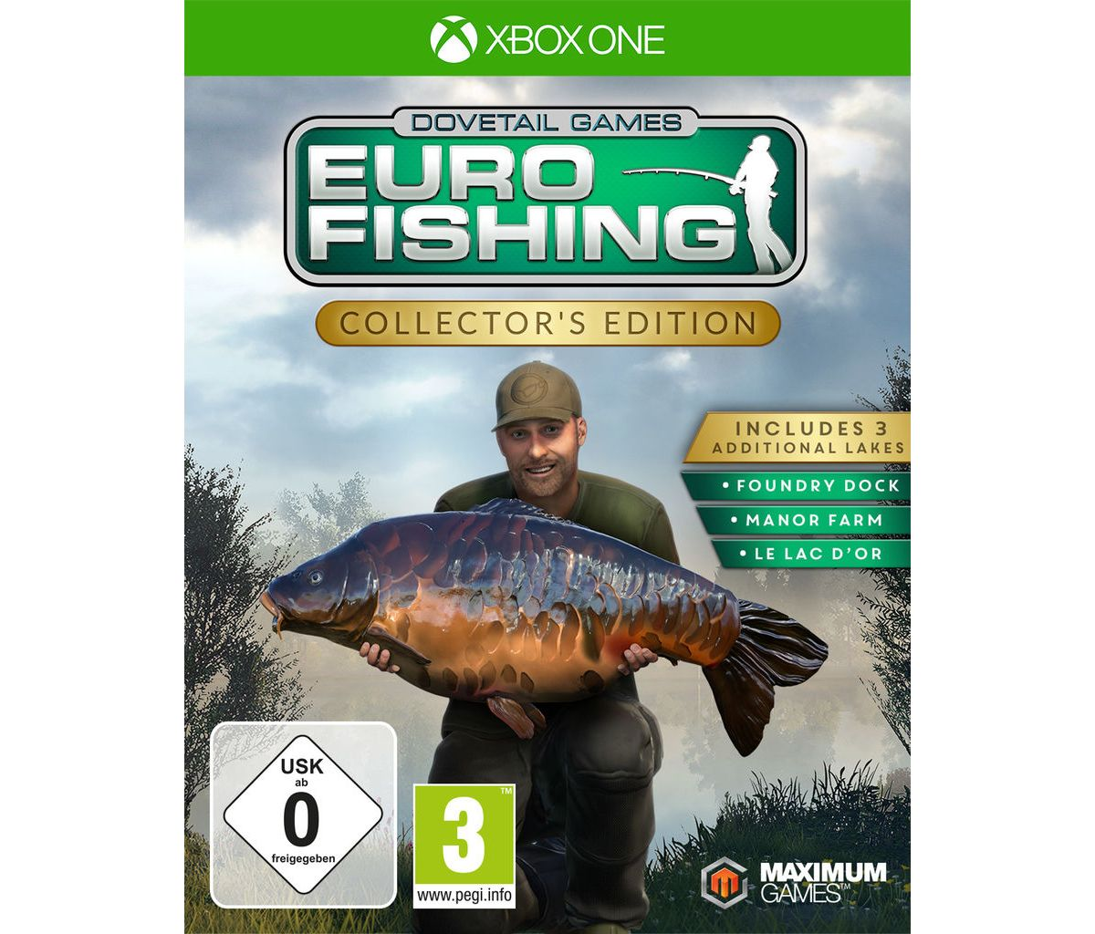 Maximum Games XBOX One - Spiel »Euro Fishing Co...