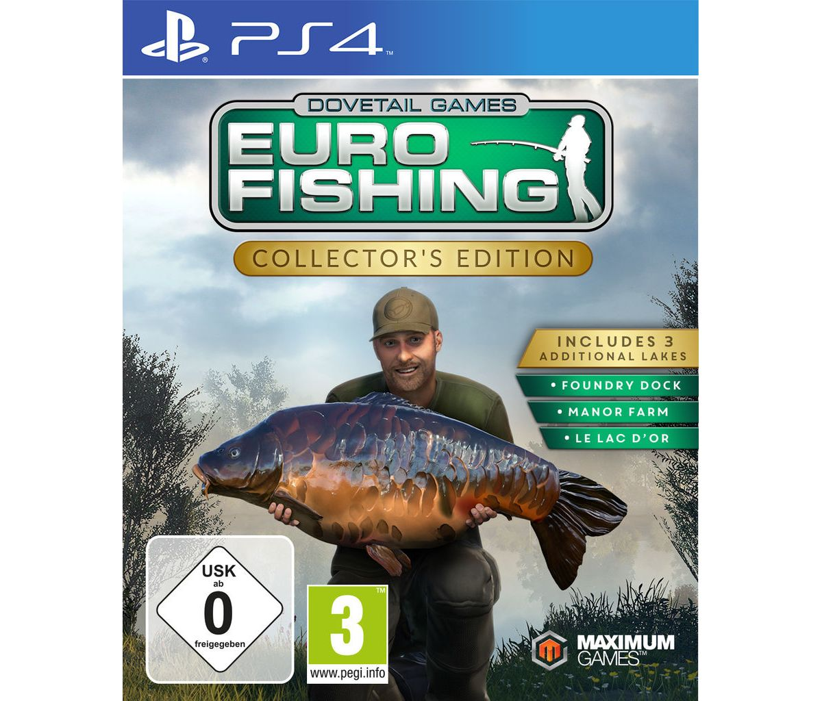 Maximum Games Playstation 4 - Spiel »Euro Fishi...