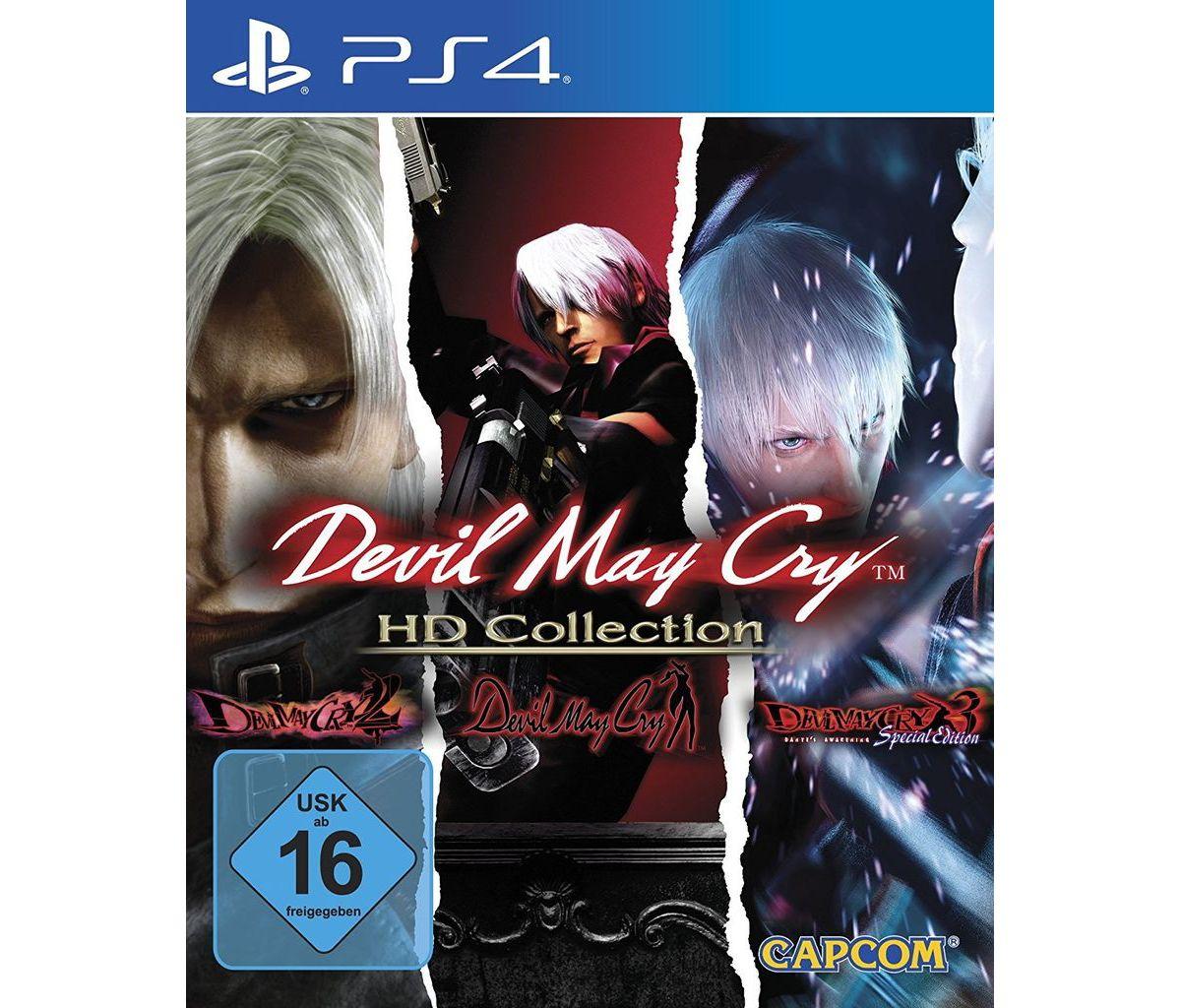 Capcom Playstation 4 - Spiel »Devil May Cry HD ...