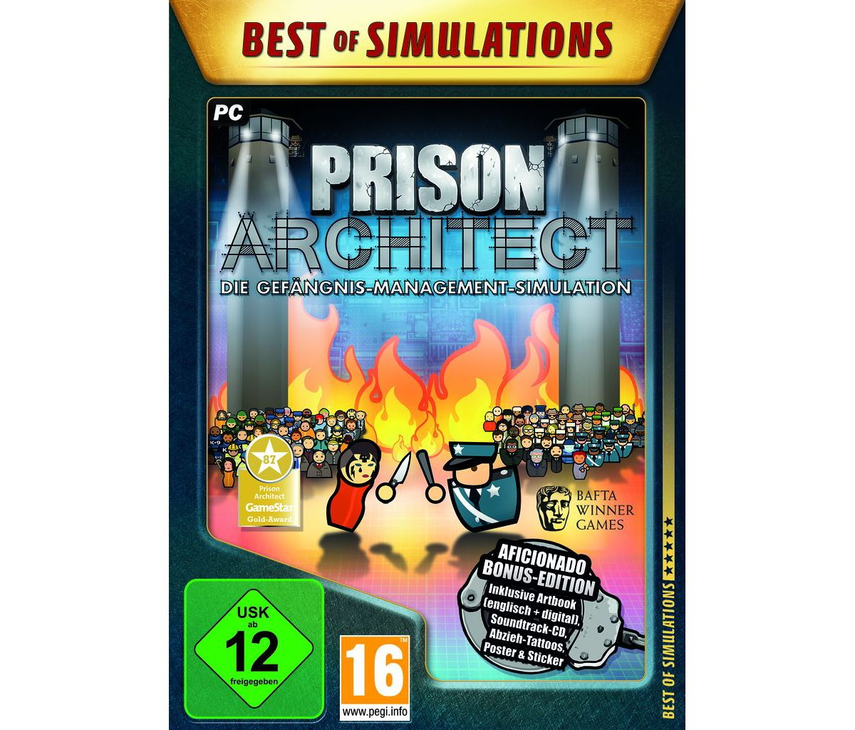 Astragon PC - Spiel »Prison Architect: Aficiona...