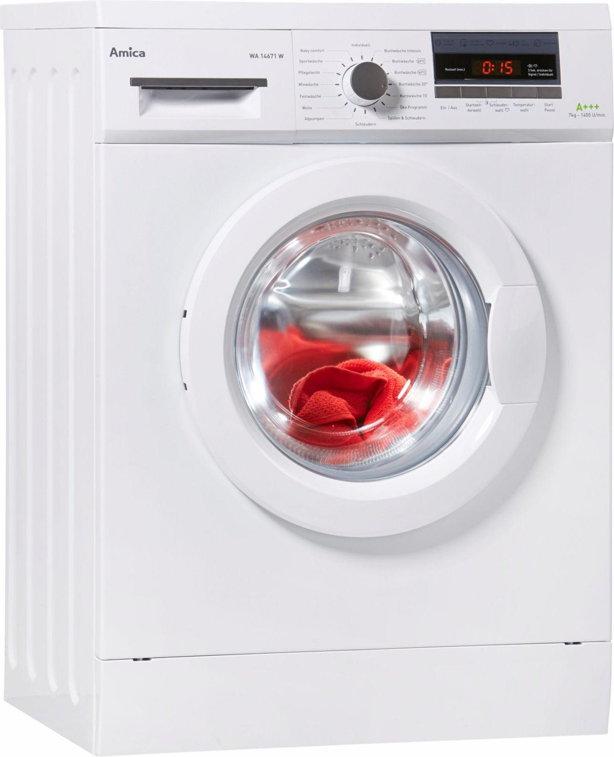 Amica Waschmaschine WA 14671 W