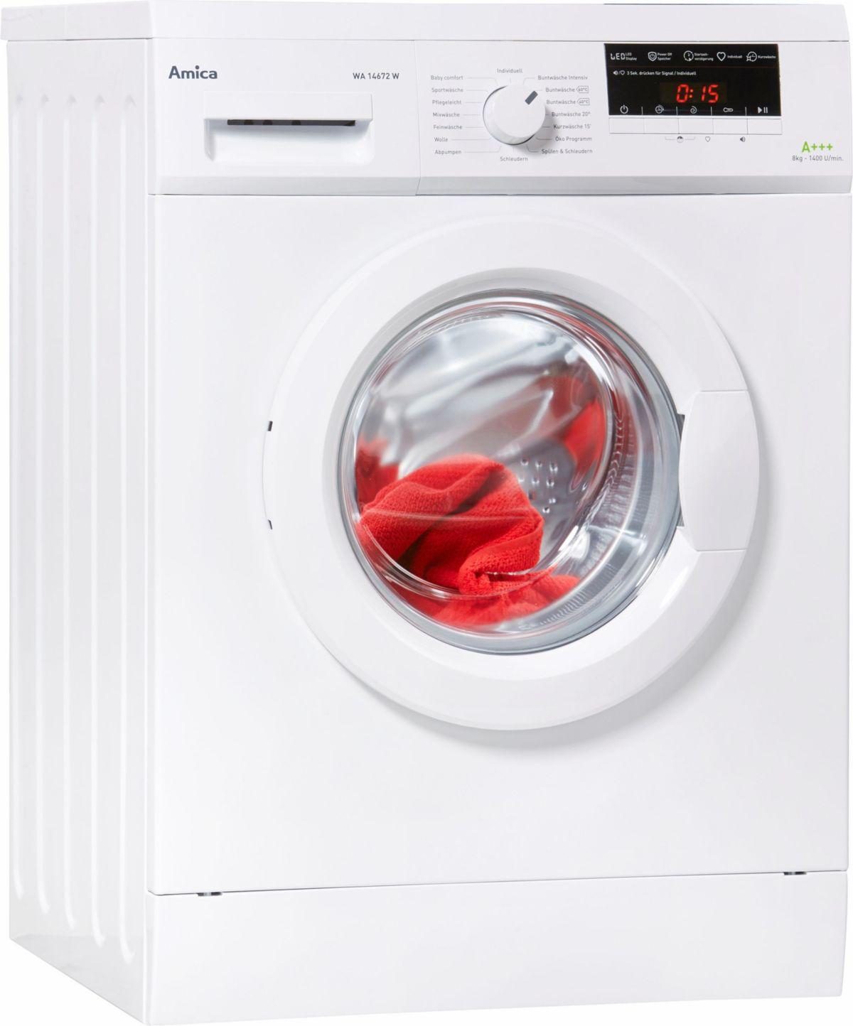 Amica Waschmaschine WA 14672 W
