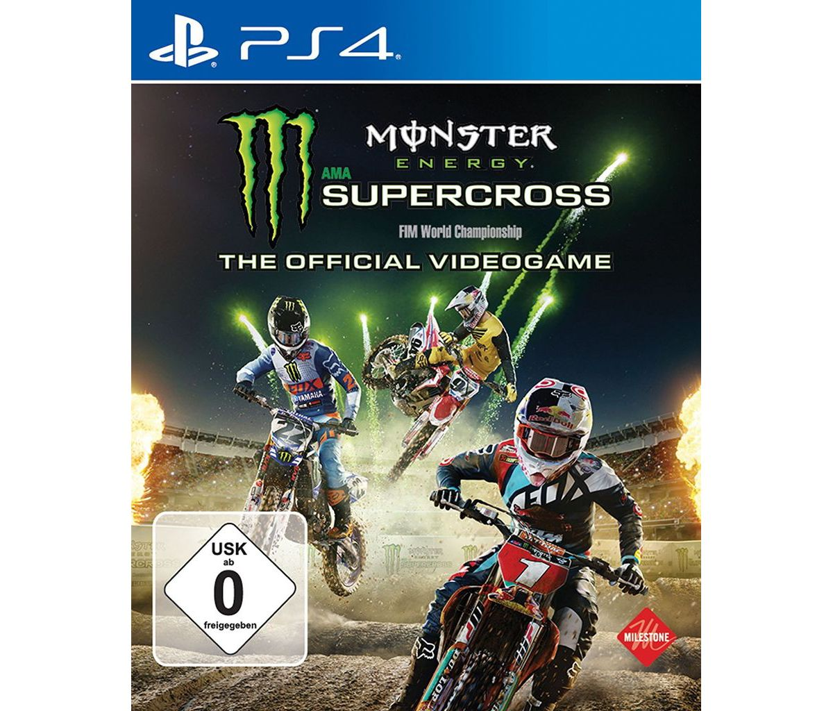 BigBen Playstation 4 - Spiel »Monster Energy Su...