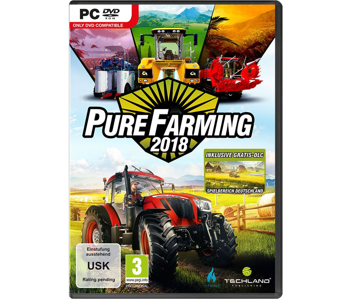 Koch Media PC - Spiel »Pure Farming 2018 Day On...