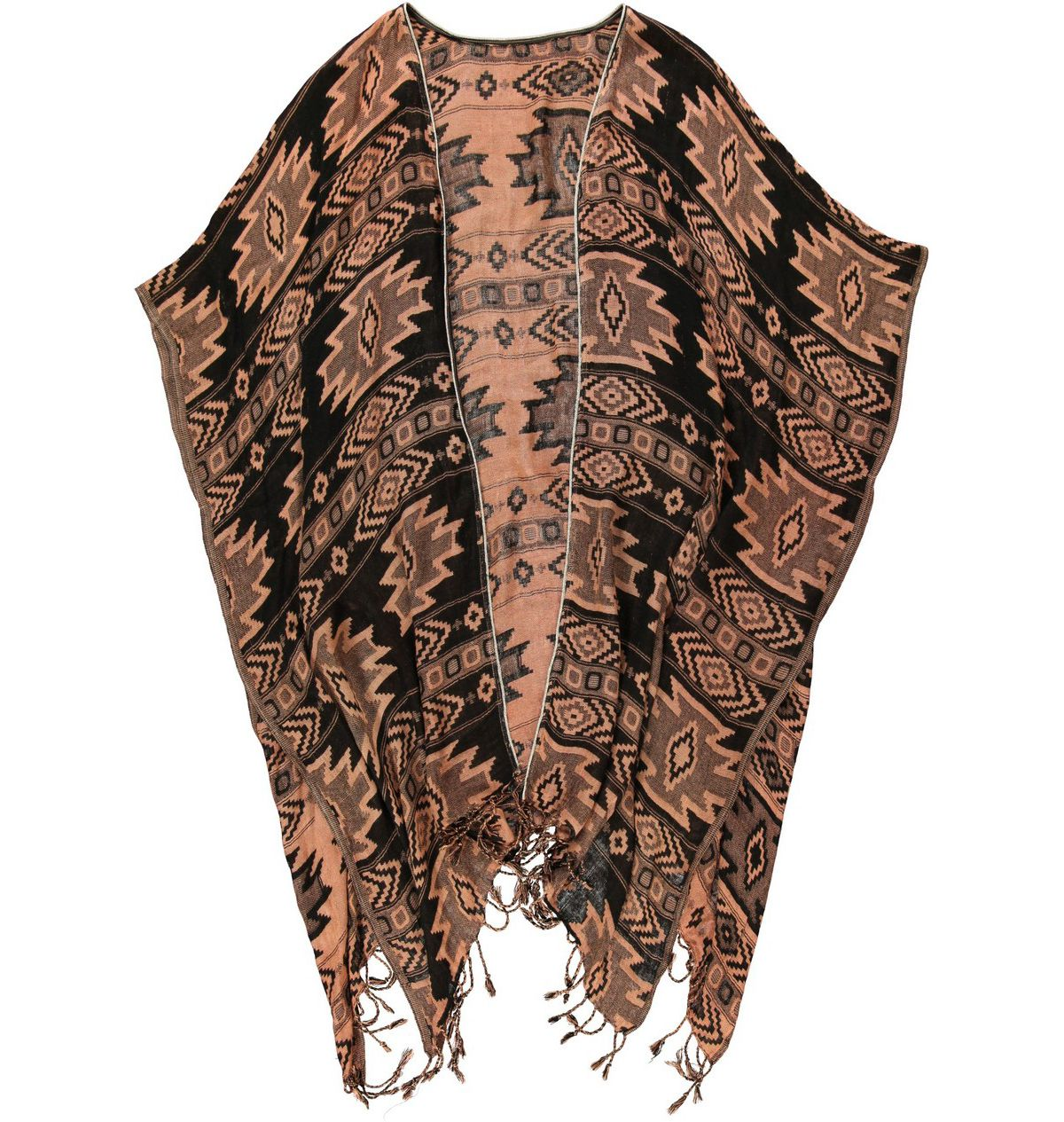 Passigatti Cape mit orientalisch angehauchtem Muster