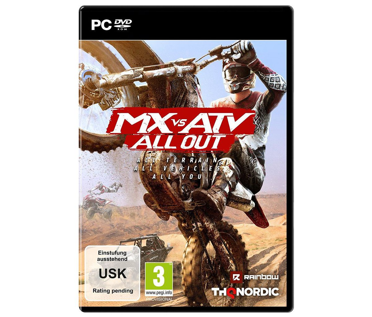 THQ Nordic PC - Spiel »MX vs. ATV All Out«