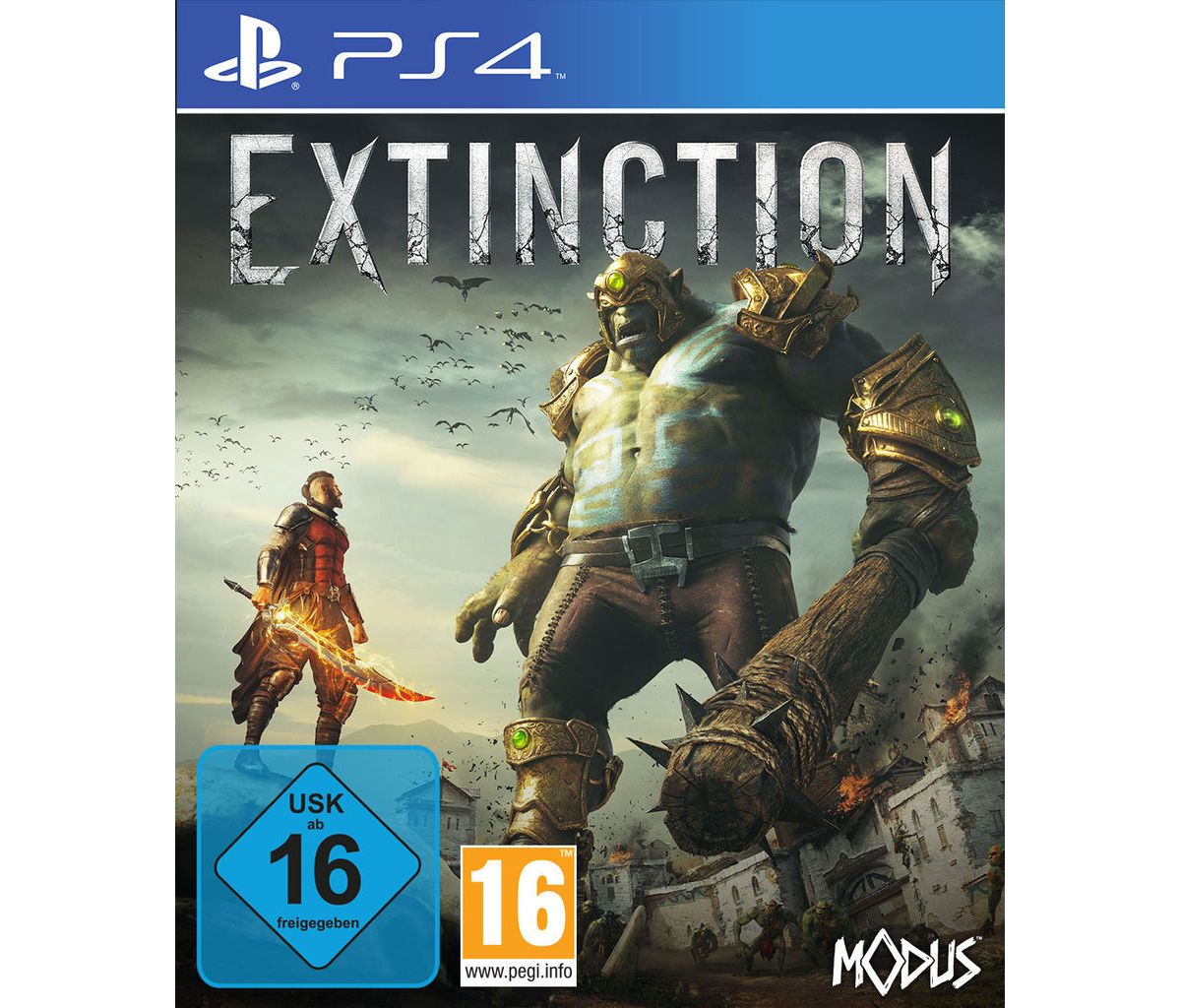 Maximum Games Playstation 4 - Spiel »Extinction«