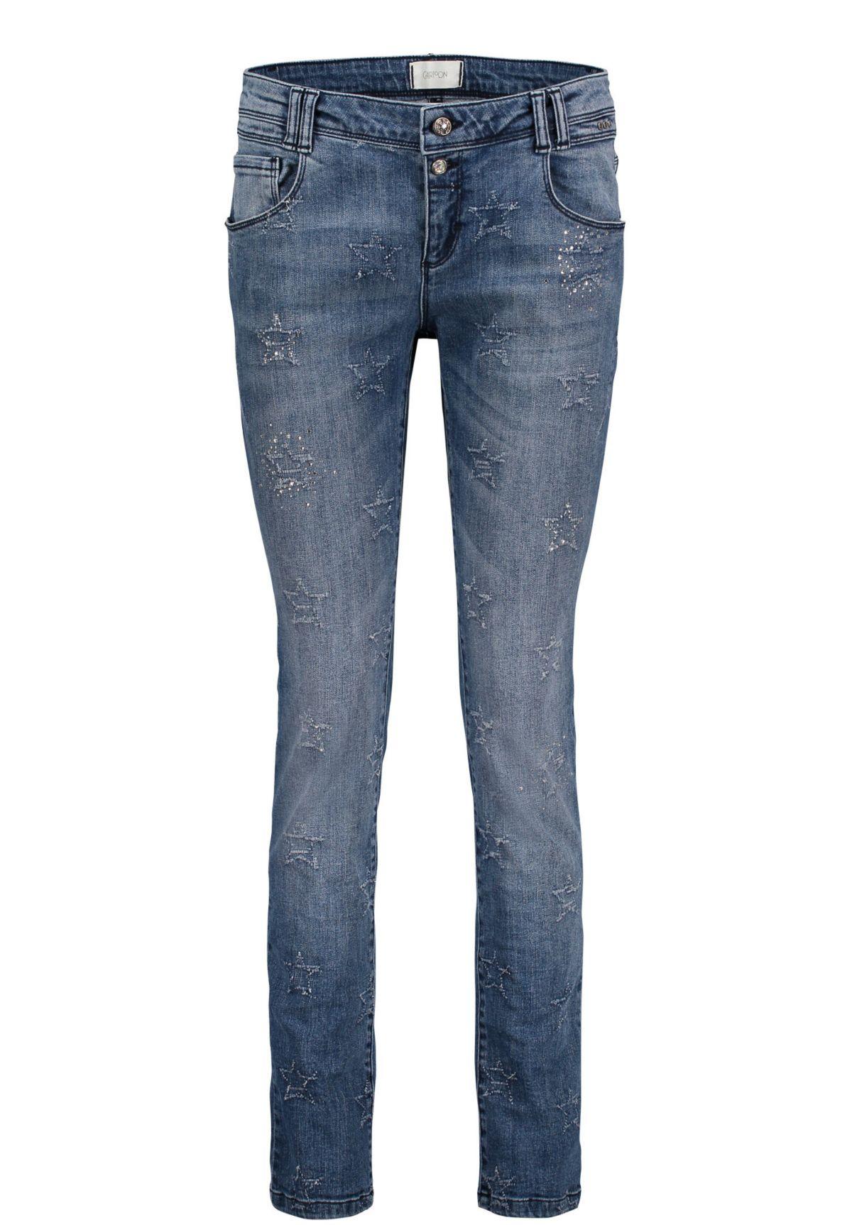 Cartoon Jeans im Girlfriend-Style