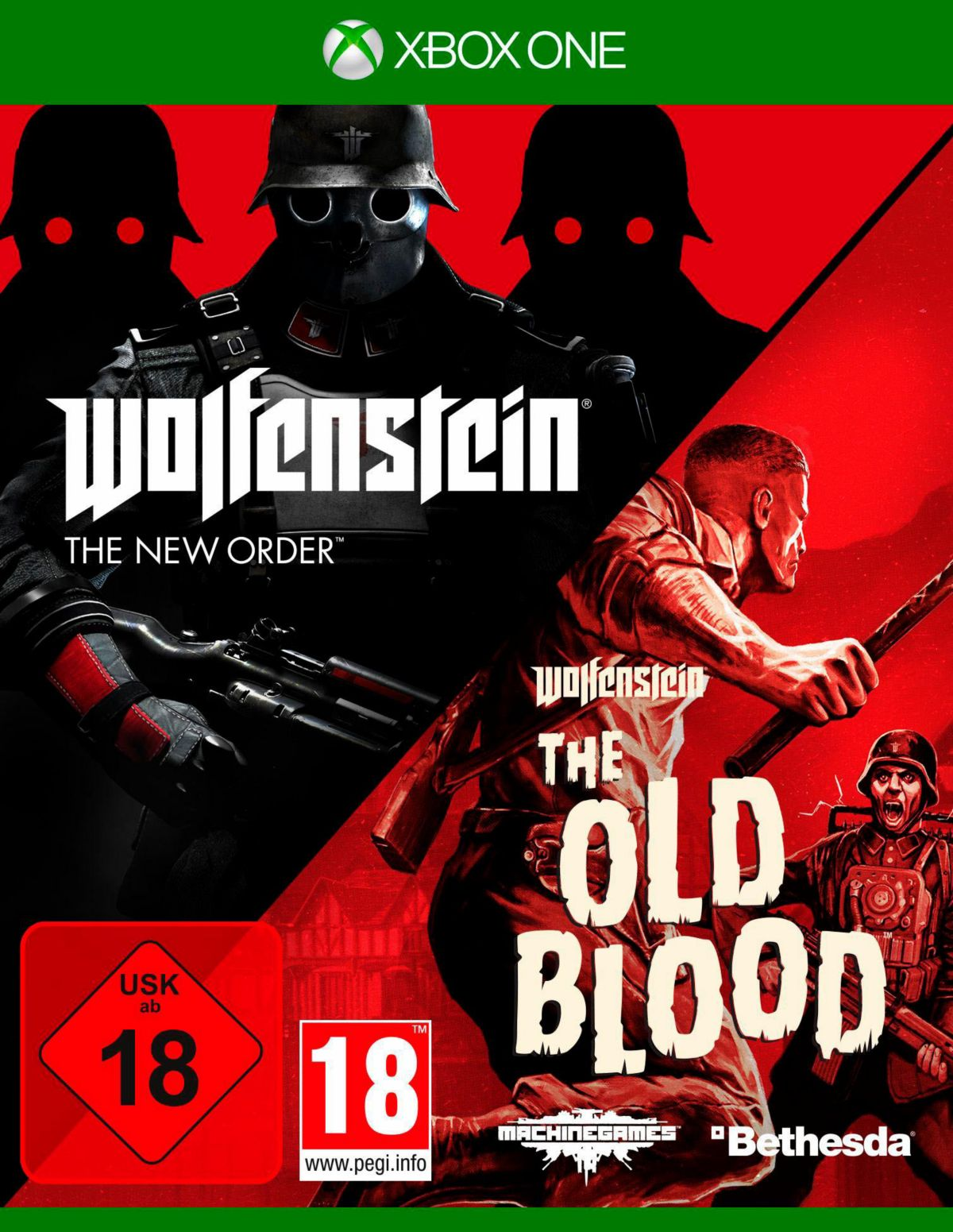 Wolfenstein: The New Order & The Old Blood Xbox...