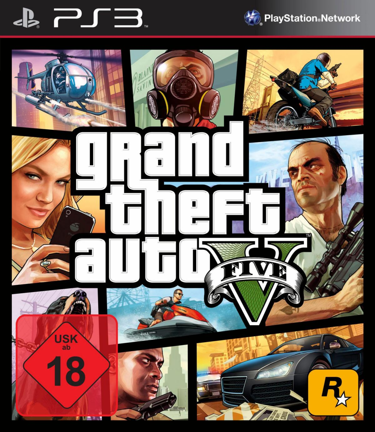 GTA - Grand Theft Auto 5 PlayStation 3