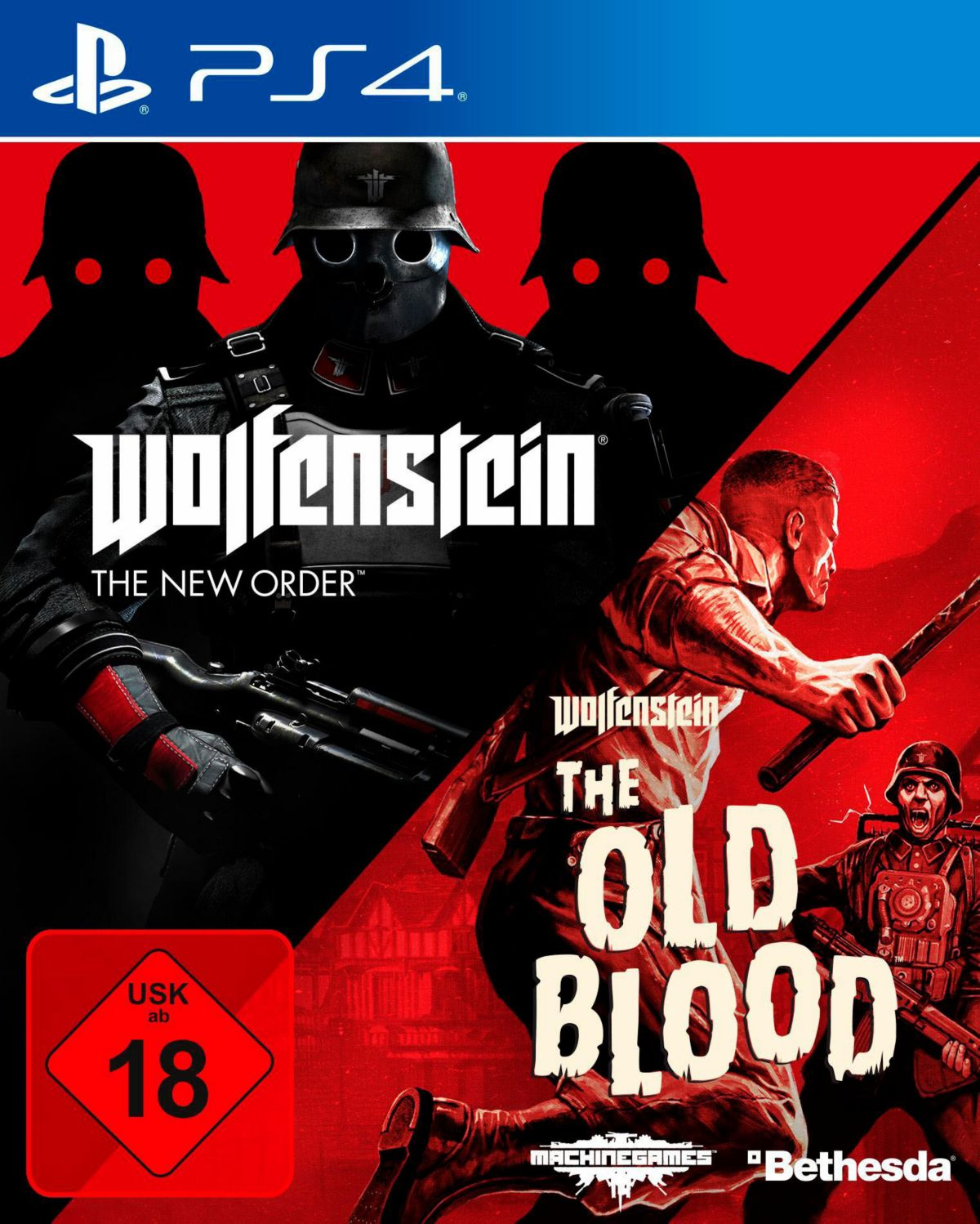 Wolfenstein: The New Order & The Old Blood Play...