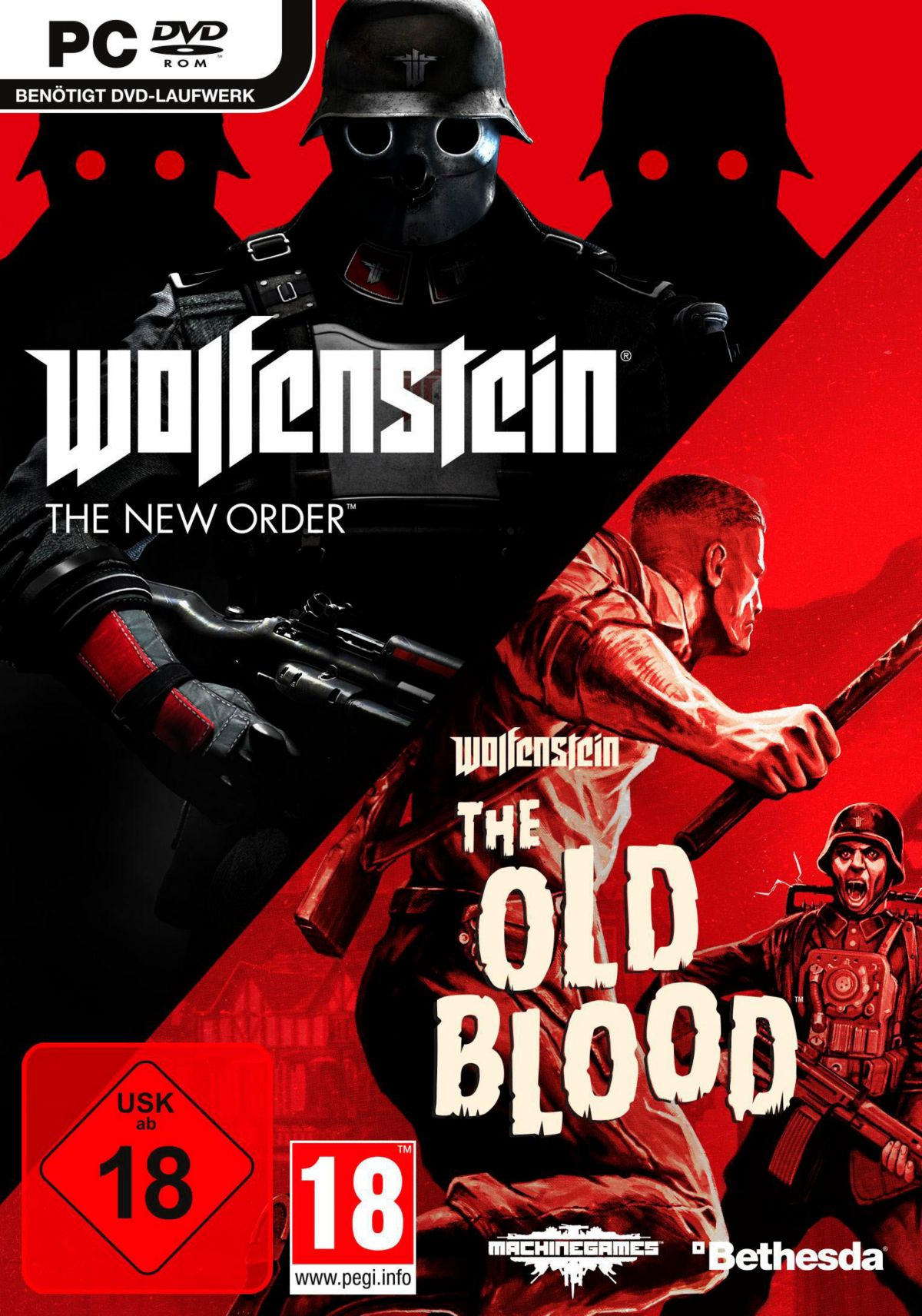 Wolfenstein: The New Order & The Old Blood PC