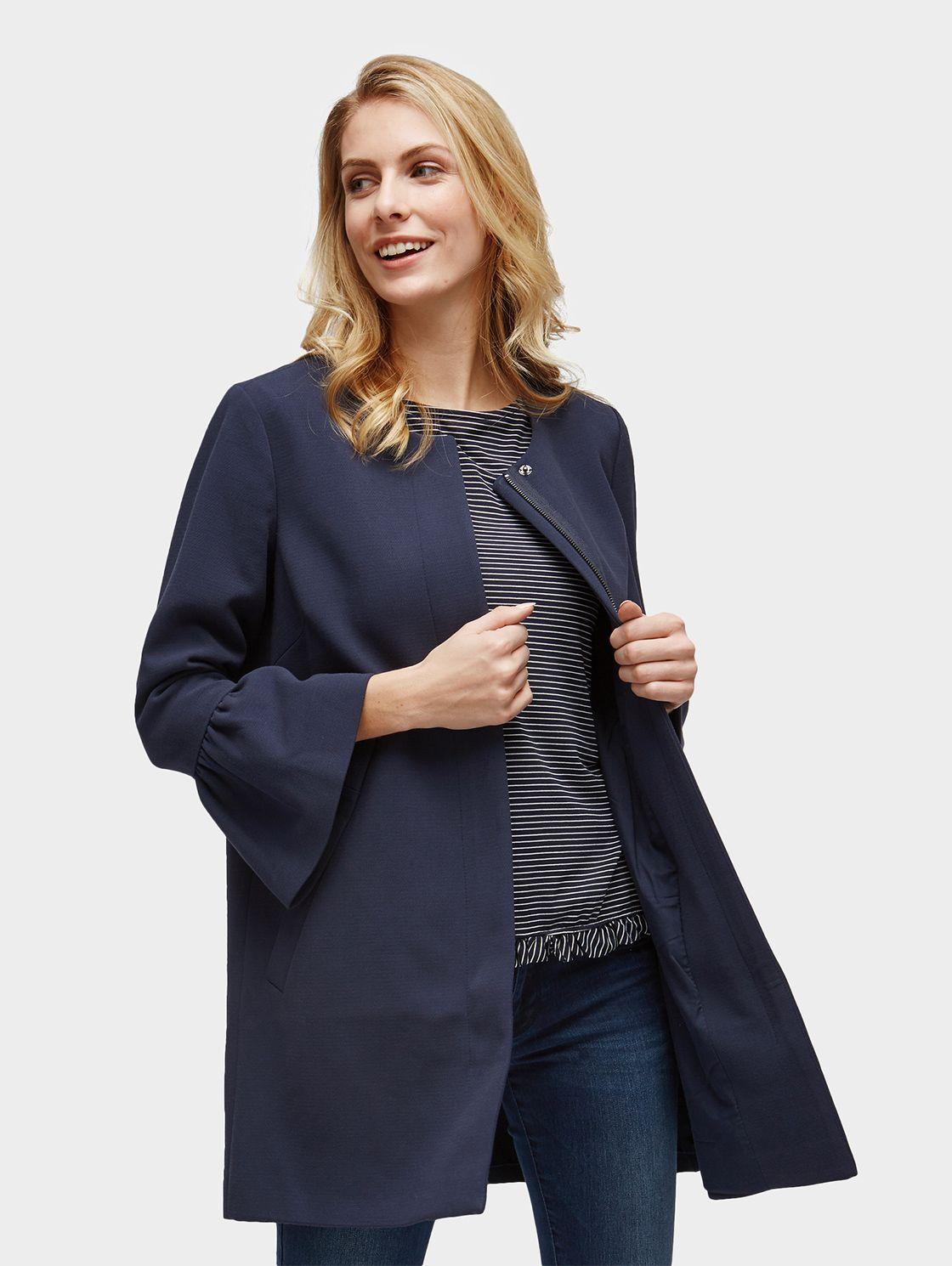 Mantel schwarz tom tailor