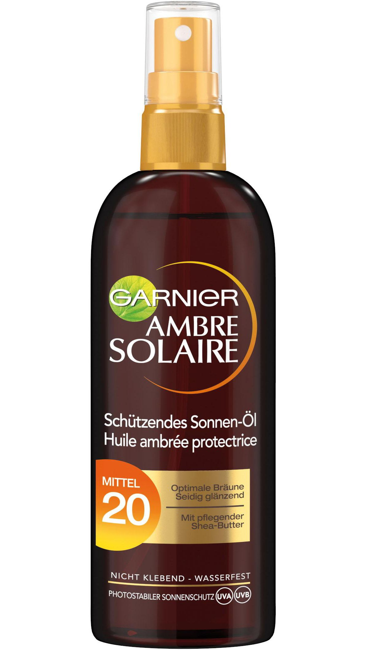 Garnier, »Ambre Solaire Bräunungsöl-Spray LSF 20«, Sonnenöl