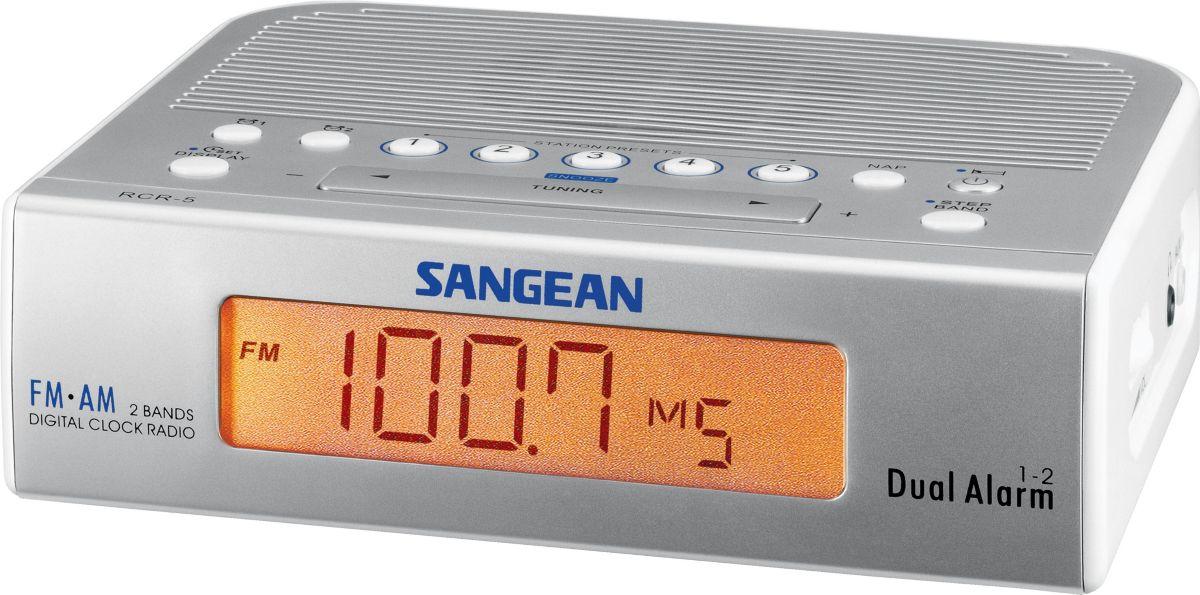 Sangean Digitales Uhrenradio, Radiowecker, FM/AM »RCR-5«