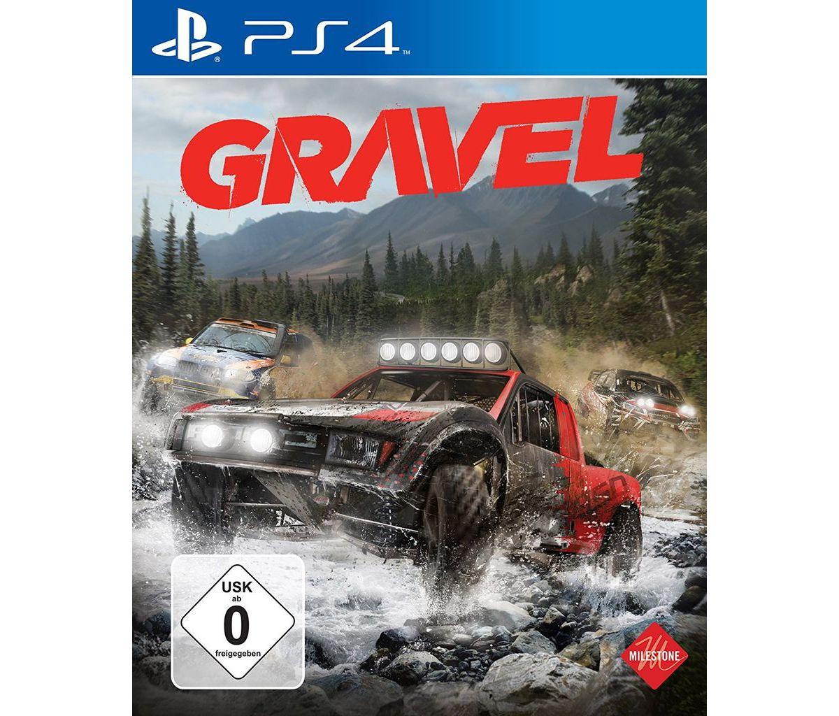 Milestone Playstation 4 - Spiel »Gravel«