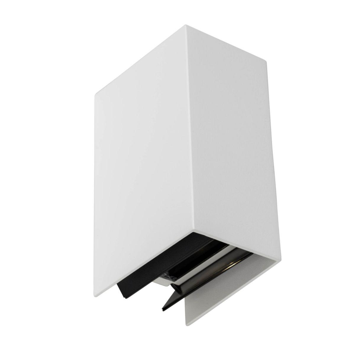 AEG Adapt LED Außenwandstrahler, 2-flammig weiß...