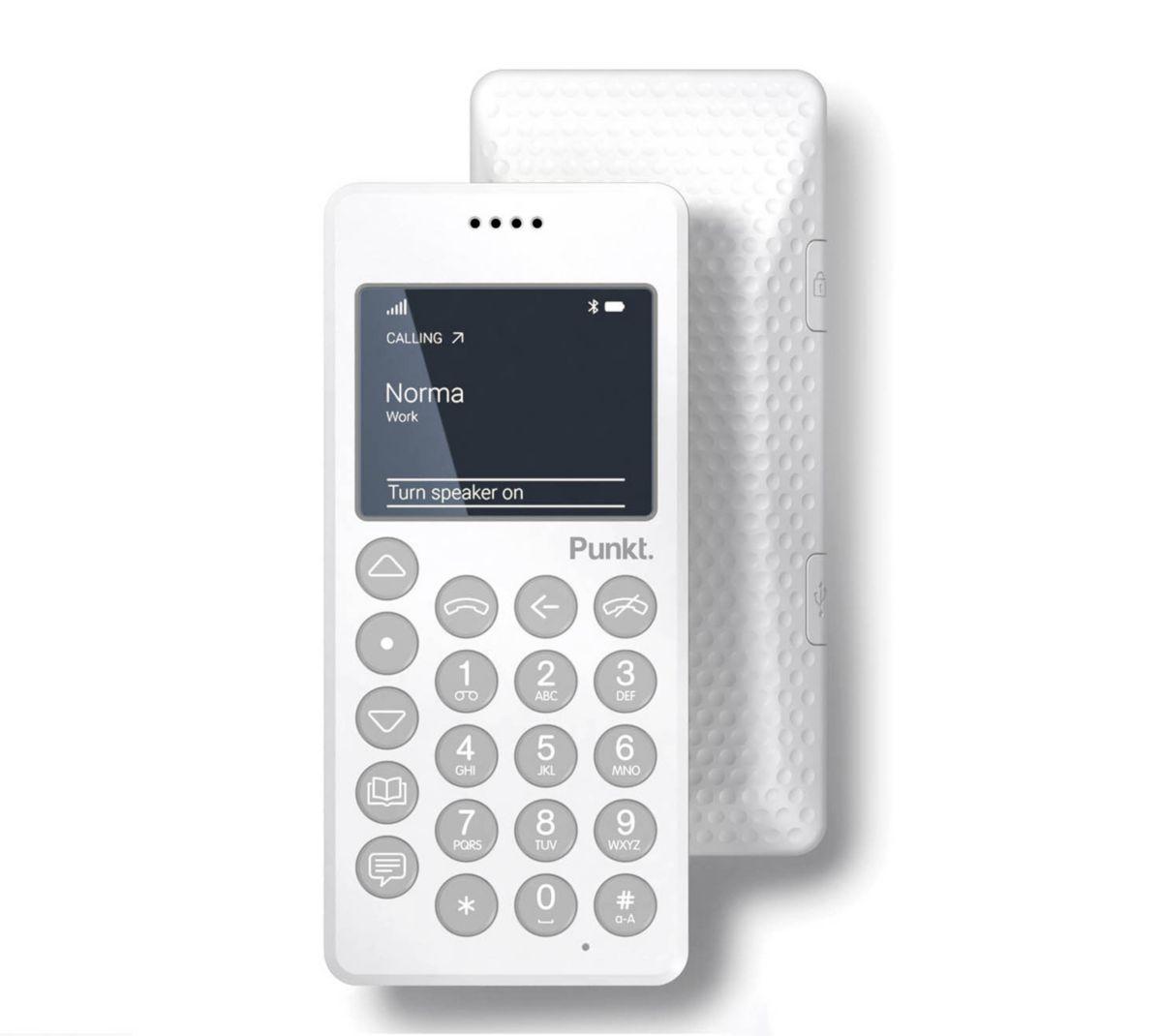 Punkt Mobiltelefon mit Bluetooth (Senioren Hand...