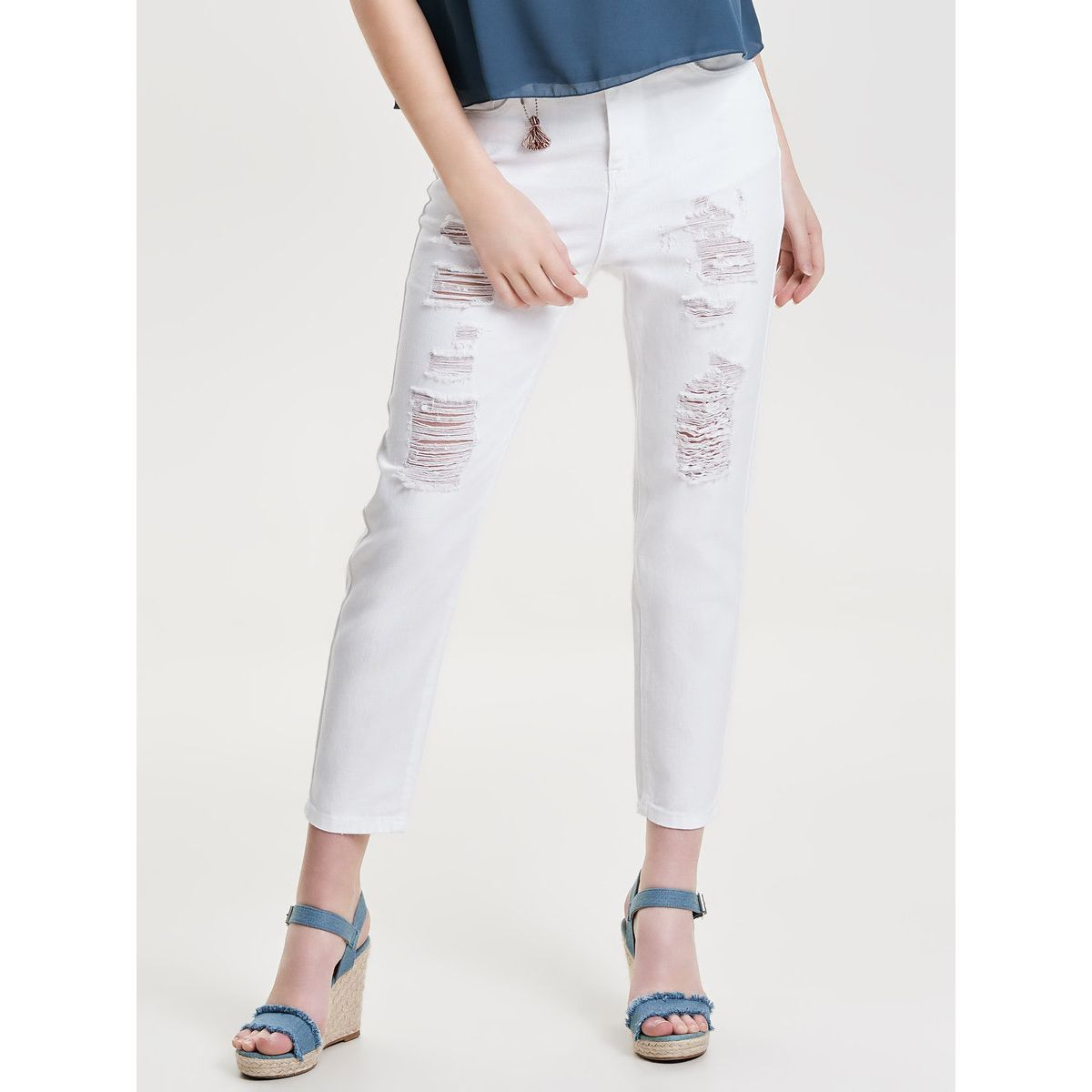 Only Studio mw Girlfriend Ankle Anti Fit Jeans